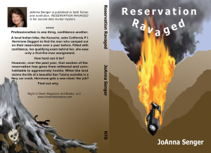 Reservation Ravaged by JoAnna Senger, cover art Wendy Fallon