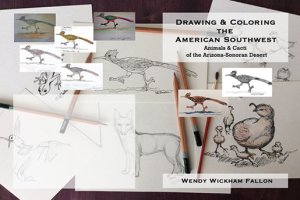 Drawing & Coloring the American Southwest by WFallon